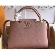 Louis Vuitton Capucines BB Bag Blooms Crown M54665 Magnolia