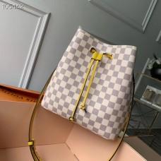 Louis Vuitton Damier Azur Canvas NeoNoe Bucket Bag N40151 Pineapple 2019