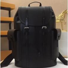 Louis Vuitton Epi Leather Christopher PM Backpack Bag M50159 Black