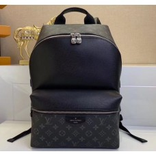 Louis Vuitton Monogram Canvas and Taiga Leather Discovery Backpack PM Bag M30230 Black 2019