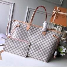 Louis Vuittom damier azur Canvas Neverfull GM Bag N41604