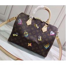 Louis Vuitton Love Lock Monogram Canvas Speedy Bandoulière 30 Bag M44365 2019