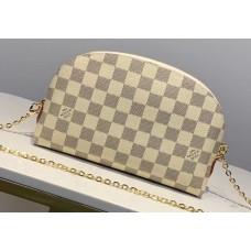 Louis Vuitton Cosmetic Pouch GM Bag M47353 Damier Azur Canvas