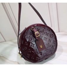 Louis Vuitton Monogram Vernis Leather Boite Chapeau Souple Bag Amarante 2019