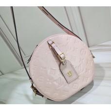 Louis Vuitton Monogram Vernis Leather Boite Chapeau Souple Bag Rose Ballerine 2019