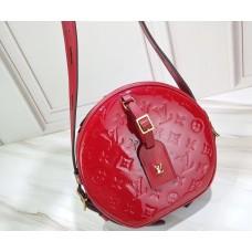 Louis Vuitton Monogram Vernis Leather Boite Chapeau Souple Bag M54100 Rouge 2019