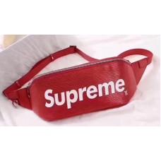 Louis Vuitton Supreme X Epi Waist Bag Red 2017