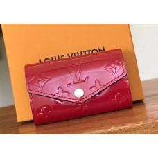 Louis Vuitton Monogram Vernis Leather 6 Key Holder M61223 Cerise