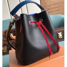 Louis Vuitton Epi Leather NeoNoe BB Bucket Bag M52853 Black