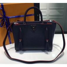 Louis Vuitton Calfskin Leather Lockmeto Epsom M54571 Marine Rouge 2017