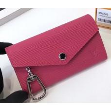 Louis Vuitton Epi Leather Key Pouch M56246 Fuchsia