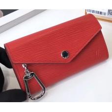 Louis Vuitton Epi Leather Key Pouch M56247 Couquelicot