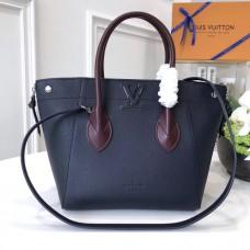 Louis Vuitton Calfskin Freedom Handbag M54842 Navy 2017