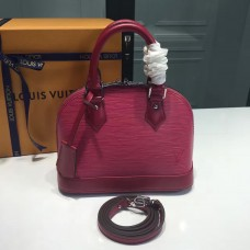 Louis Vuitton Alma BB  Epi Leather M91606 Hot Pink(KD-721603)