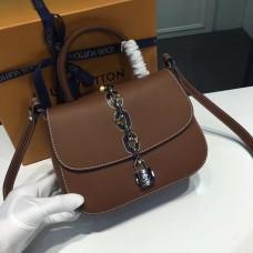 Louis Vuitton Chain It bag PM M54619 fauve brown(KD-741801)
