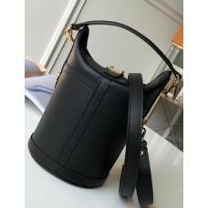 Louis Vuitton Bucket Shape Duffle Bag M53044 Black