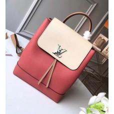 Louis Vuitton Lockme Backpack Bag M44250 Vieux Rose Sesame Creme 2018