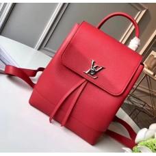 Louis Vuitton Lockme Backpack Bag M41814 Rubis 2018