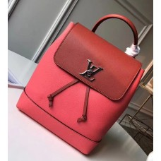Louis Vuitton Lockme Backpack Bag Red/Rouge 2018