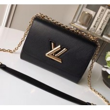 Louis Vuitton EPI Twist MM Bag M54804 Black 2018