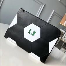 Louis Vuitton Epi Leather Pochette Jour GM Pouch M63295 Black