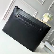 Louis Vuitton Men's Pochette Cosmos Clutch M63268 Black 2018