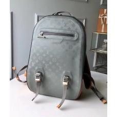 Louis Vuitton Men's Monogram Titanium Backpack GM M43881 2018