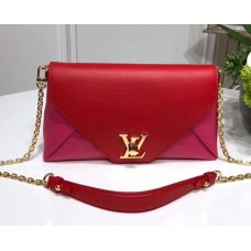 Louis Vuitton Love Note Chain Clutch M54501 Red/Pink 2018