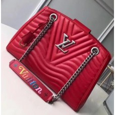Louis Vuitton New Wave Chain Tote Bag M51497 Red 2018