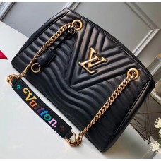 Louis Vuitton New Wave Chain Tote Bag M51496 Black 2018