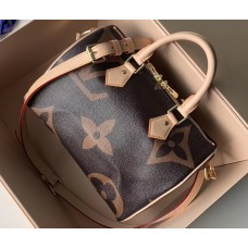 Louis Vuitton Monogram Canvas and Reverse Speedy 25 Bandouliere Bag M41113 2019