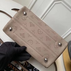 Louis Vuitton Braided Handle Mahina leather Hina PM Bag M53914 Galet 2019