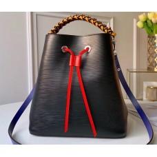Louis Vuitton Braided Handle Epi Leather NéoNoé Bucket Bag M53916 2019