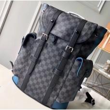 Louis Vuitton Damier Graphite Canvas Christopher PM Backpack Bag N42422