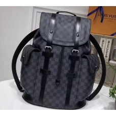 Louis Vuitton Damier Graphite Canvas Christopher PM Backpack Bag N41379