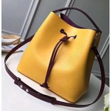 Louis Vuitton Epi Leather NeoNoe Bag M54369 Yellow 2018