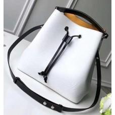 Louis Vuitton Epi Leather NeoNoe Bag M53371 White 2018