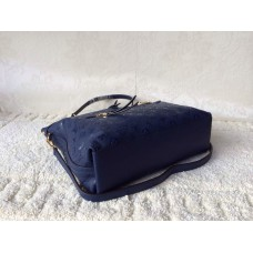 Louis Vuitton Monogram Empreinte Bastille Bag blue