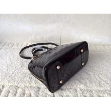 Louis Vuitton Alma PM Monogram Vernis M90061 black