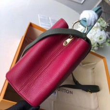 Louis Vuitton Capucines BB Bag Colorblock M52990 Fuchsia