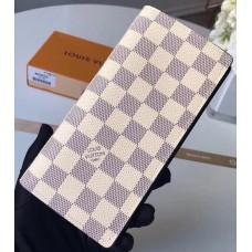 Louis Vuitton Brazza Men's Wallet in Damier Azur Canvas N63506