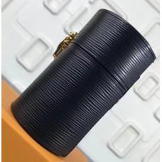 Louis Vuitton 100ml Fragrance Travel Case LS0150 Black Epi Leather