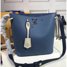 Louis Vuitton Lockme Bucket M51413 Blue 2018