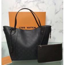 Louis Vuitton Mahina Hina MM Tote M54354 Noir 2018