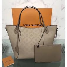 Louis Vuitton Mahina Hina MM Tote M54354 Pale Grey 2018