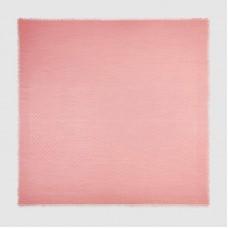 Gucci Pink Silk Wool GG Jacquard Shawl