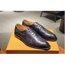 Louis Vuitton 1A5GKH LV Voltaire derby Shoe in Monogram Canvas