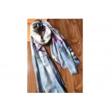 Louis Vuitton 100x200cm Lotus Cashmere Scarf And Shawl
