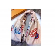 Louis Vuitton 140cm Square Cashmere Scarf And Shawl