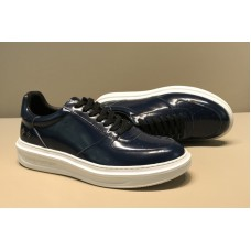 Louis Vuitton 1A46PB LV Beverly Hills Sneaker in Blue Glazed calf leather